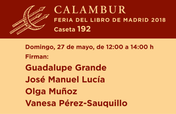 Feria del Libro de Madrid: domingo 27