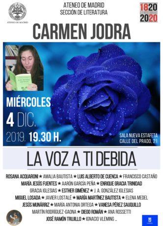 Homenaje a Carmen Jodra